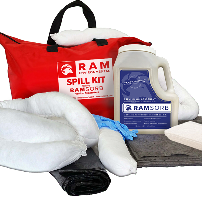 Premium RamSorb Vehicle Spill Kit